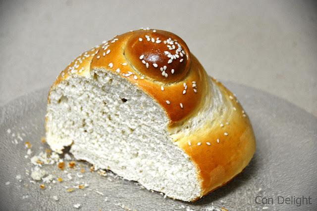 חהל פרוסה sliced challah