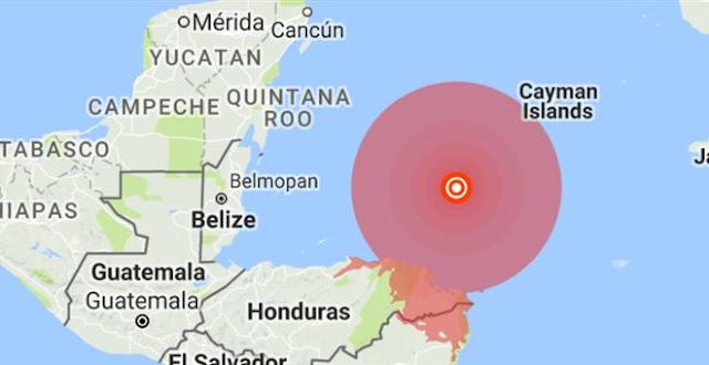 Σεισμός 7,8 βαθμών στην Ονδούρα