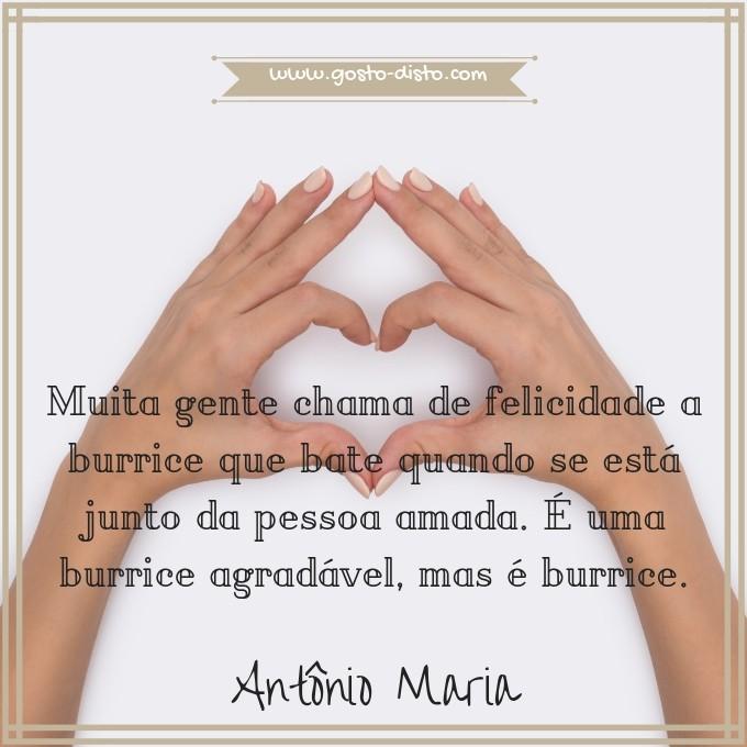 Pensamento de Antônio Maria