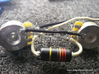 Les Paul Junior kit wiring harness