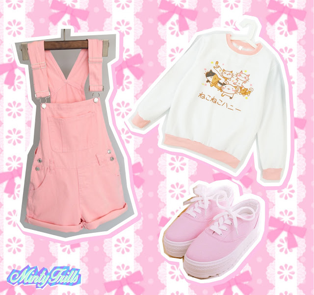 kawaii cute pastel fashion cheap buy mintyfrills