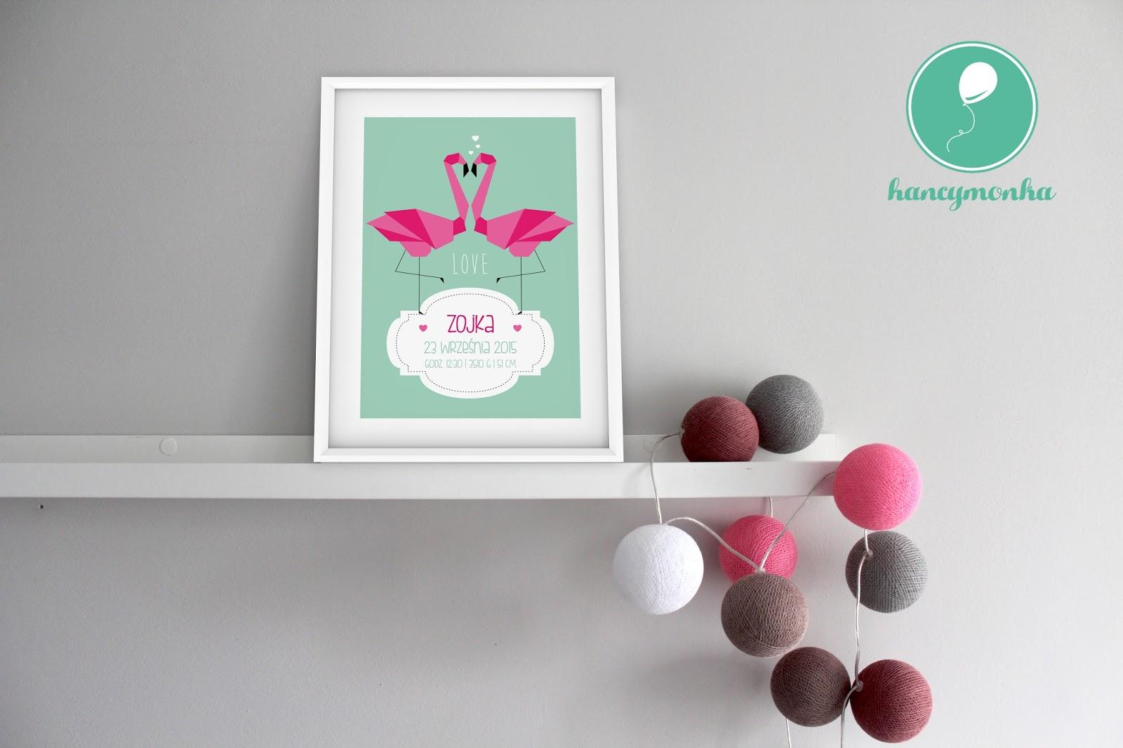 personalizowana metryczka, prezent na narodziny, metryczka, obrazek, grafika, ilustracja, hancymonka, dla dziecka, pokój dziecięcy, dekoracja, pamiątka, birth announcement, birth infographic, birth prints