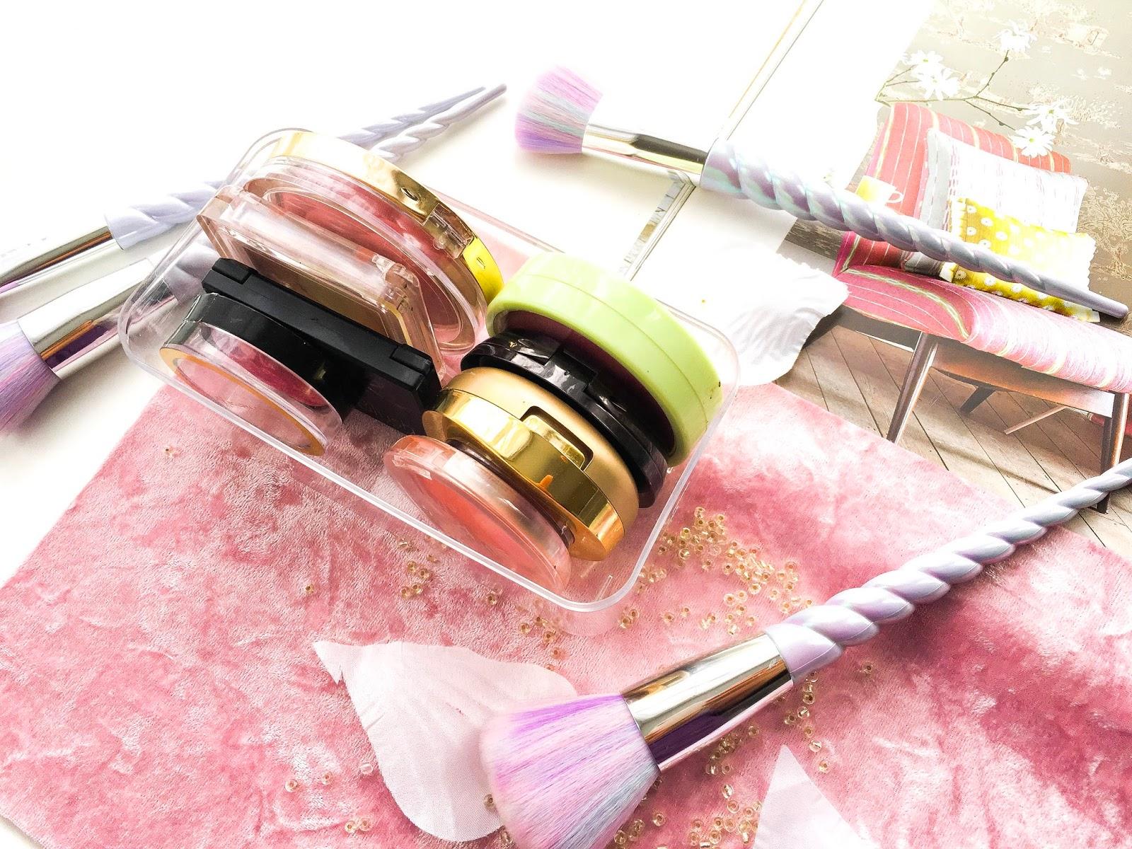 makeup collection, makeup declutter, blusher collection, drugstore blusher collection, top highstreet blushers, best high street blushers uk