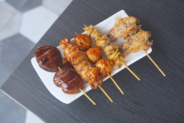 Yakitori (Chicken sticks) (S$3.00)