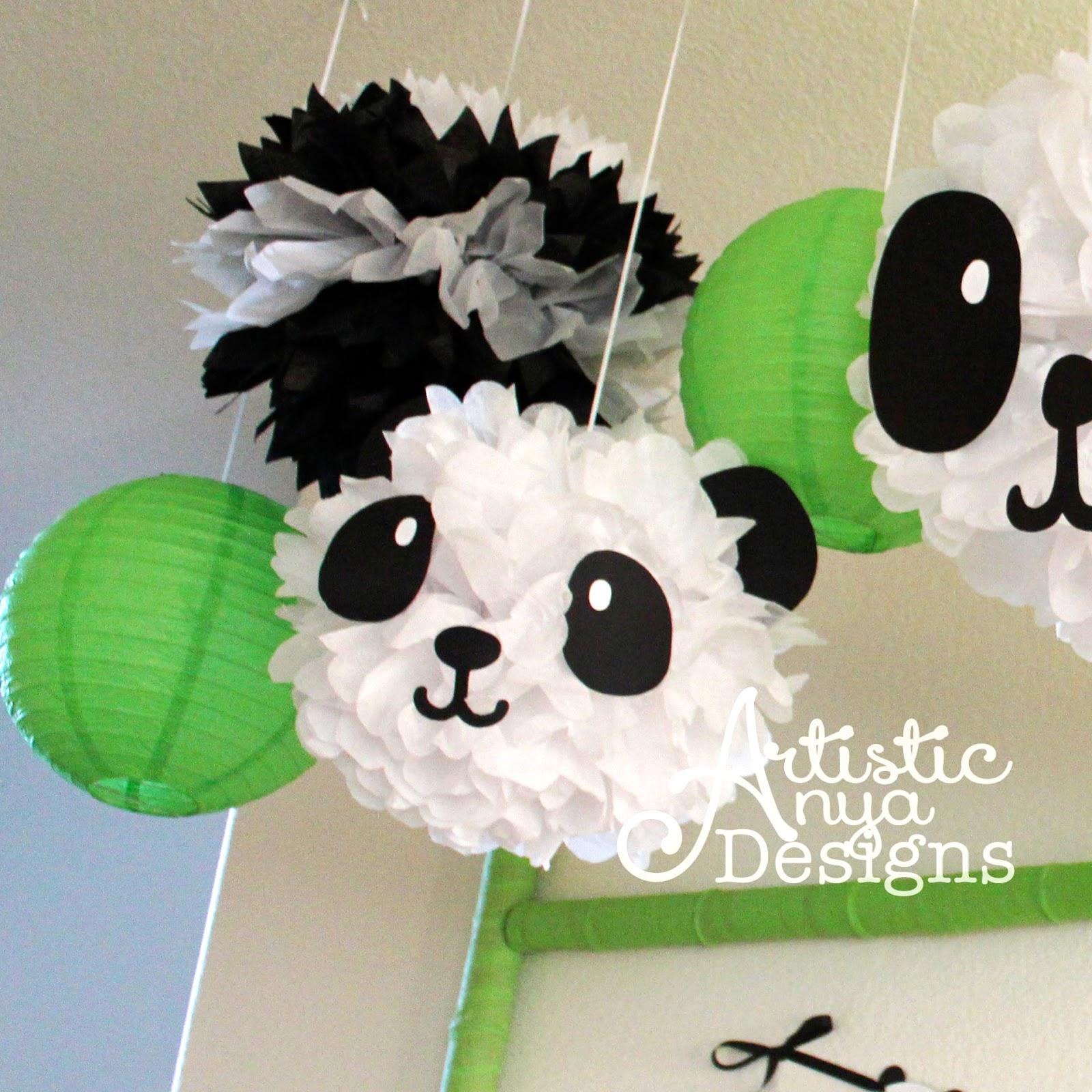 artistic anya designs ultimate panda party panda baby shower