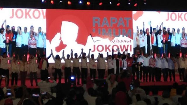 Relawan Jokowi Mengikrarkan 'Sapta Tekad Relawan Jokowi', Seperti Apa Isinya?