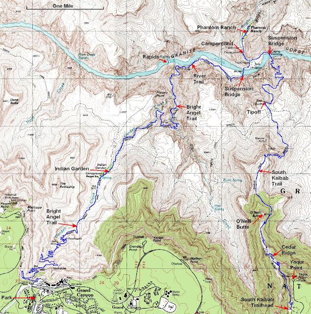 Trail Grand Canyon