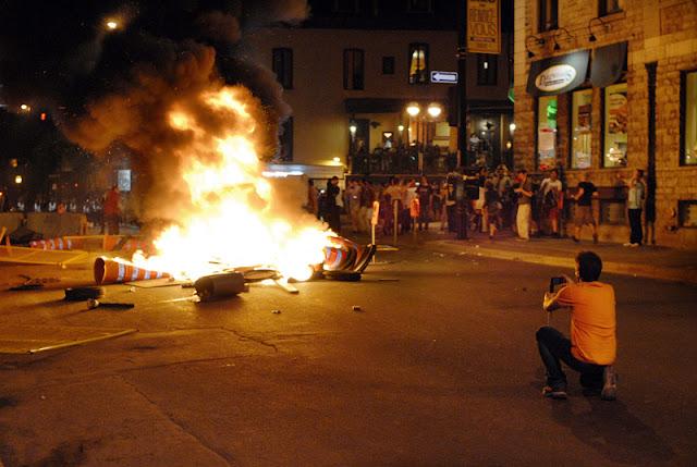 Manifestations nocturnes, divers, mai 2012, Montréal [photos David Champagne]
