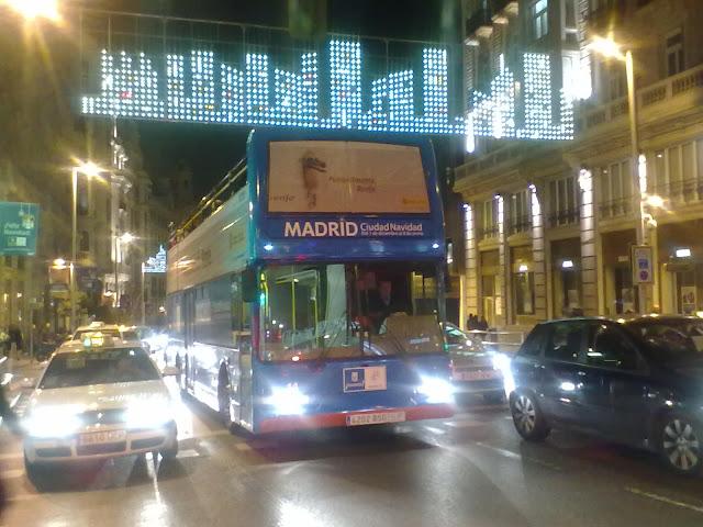 Inauguración de la navidad 2011 en Madrid
