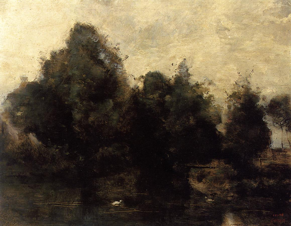 Art artists camille corot part 9 for Camille corot