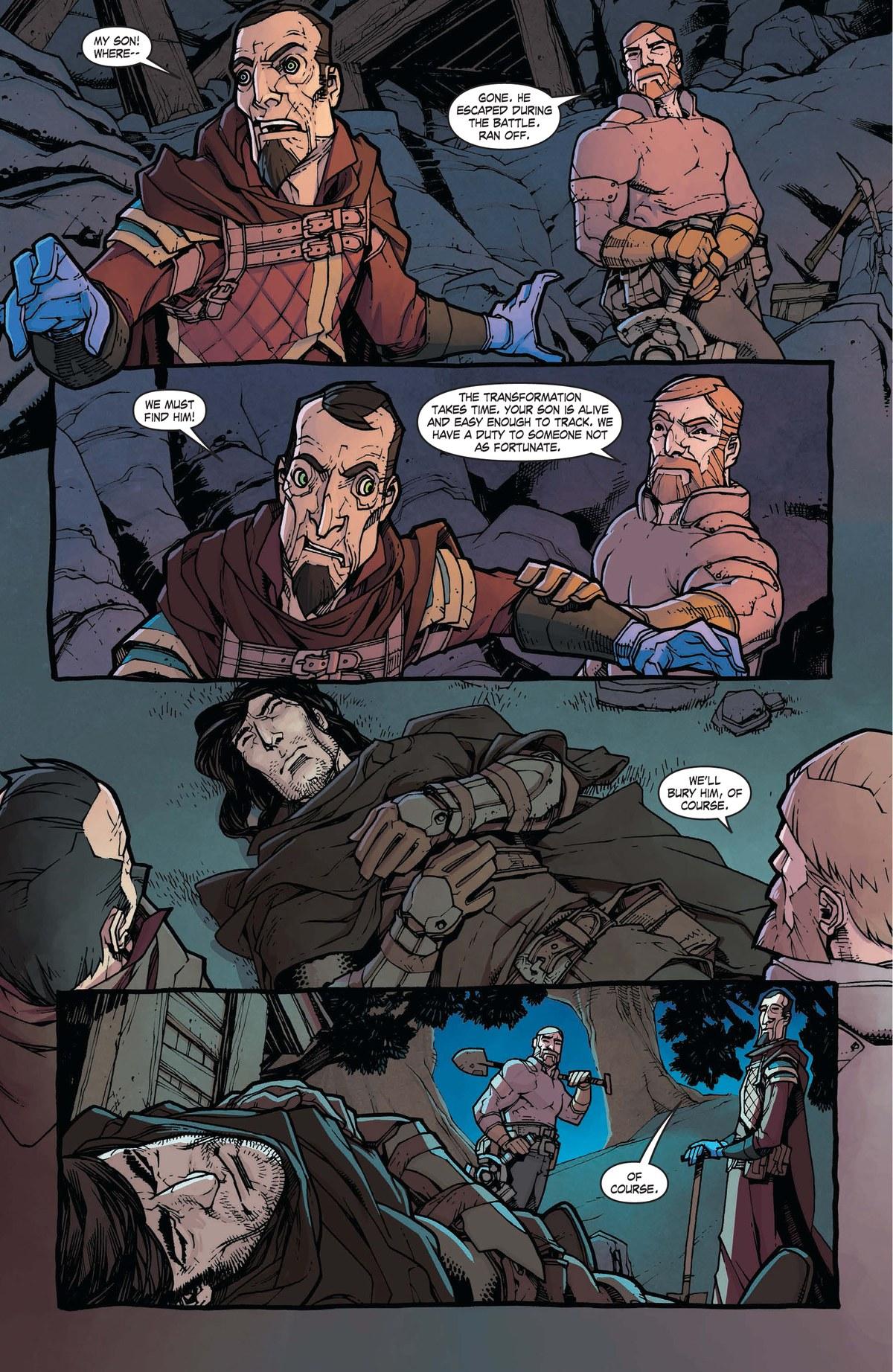 Read online World of Warcraft: Dark Riders comic -  Issue # Full - 74