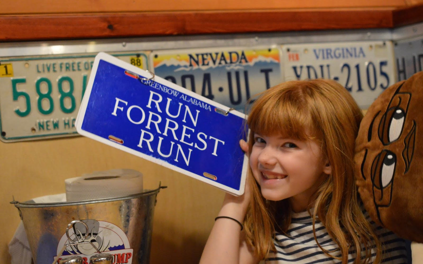 Dining with Kids in London | Bubba Gump Shrimp Leicester Square Review