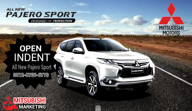 Open Indent All New Pajero Sport mitsubishi bintaro