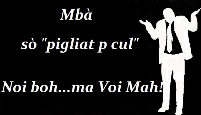 Mbà...son tutte prese per... A chi avete arrestato?-English version- Mbà... they are all taken to... Who did you arrest?