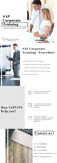 SAP Corporate Training Features