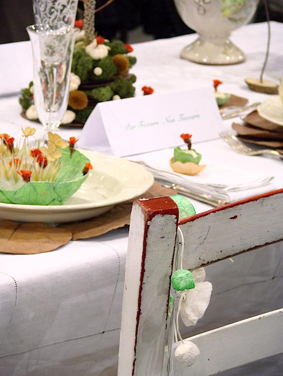 ghirlande di carta, centrotavola e decorazioni di Natale eco friendly per Abilmente Roma