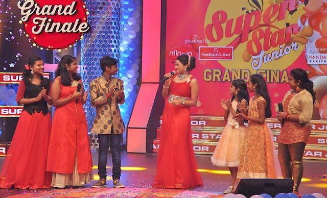 Amrita TV Super Star Junior 5 grand finale On 6 November 2016