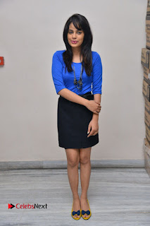 Actress Nandita Swetha Stills in Black Mini Skirt at Ekkadiki Potavu Chinnavada Movie Special Show  0068.JPG