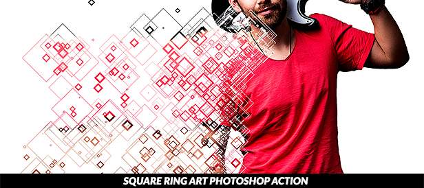 Photo to Comix Art Photoshop Action