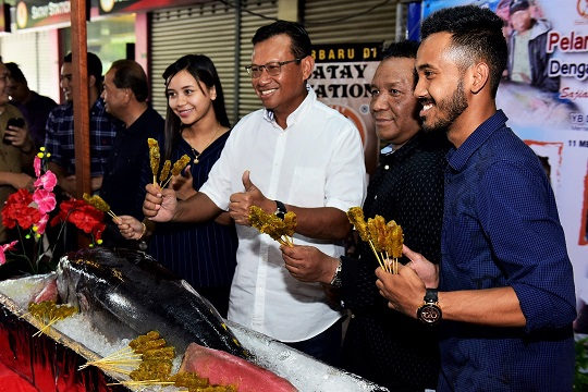 Sate Tuna Boleh didapati di 11 Cawangan Satay Station