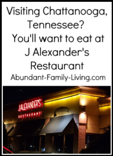 J Alexander's Restaurant in Chattanooga, Tennessee