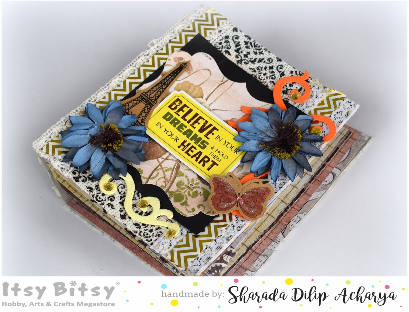 Happymomentzz crafting by sharada dilip cereal box journal cover i am still a little old fashioned when it comes to taking notes and i usually have at least two pocket notebooks in my purse at all times one for craft ccuart Image collections