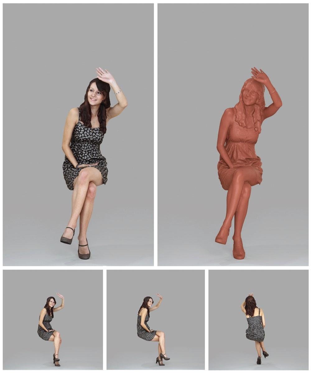 Ready-Posed 3D Humans | MeMsS001HD2
