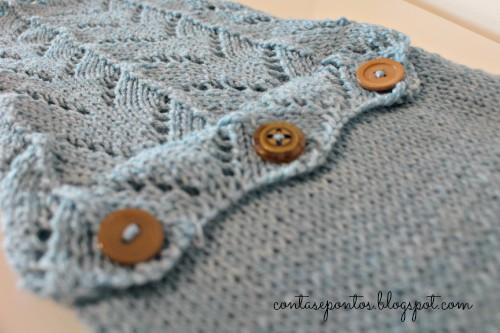 cachecol - horseshoe lace