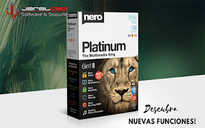 Nero Platinum 2019 Suite  - El rey multimedia en la jungla del software !!