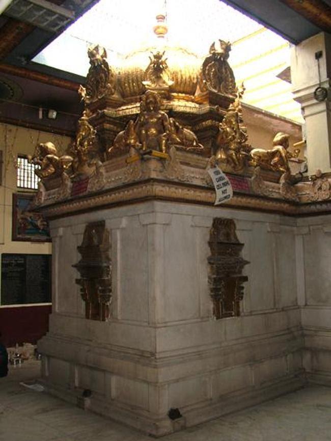 Manakula Vinayagar Temple Golden Vimanam