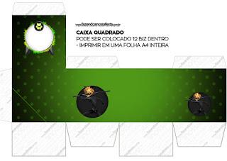Cajas Cubo de Cat Noir para imprimir gratis.