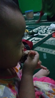 zahidah makan bakso