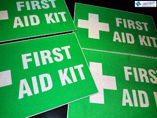 First Aid Kit - Reflective Safety Signs