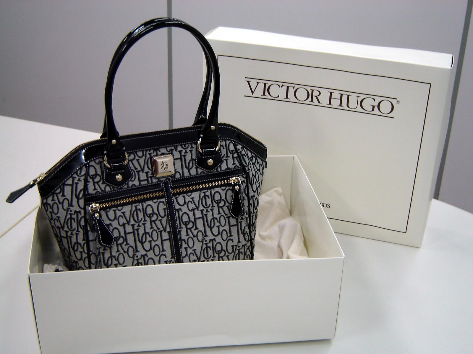544823ca641cb La VH característica de esta marca y sus diferentes monogramas se han  vuelto muy populares entre los vendedores de falsificaciones. VICTOR HUGO  es una marca ...