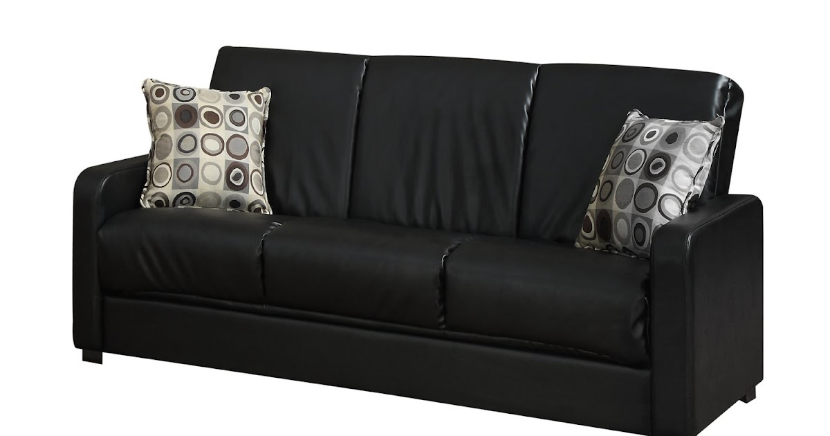 How To Buy Black Leather Sofa Online: Black Leather ...