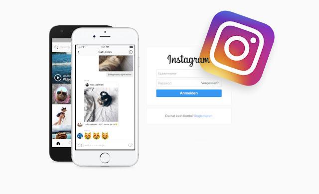 Instagram Login Startseite