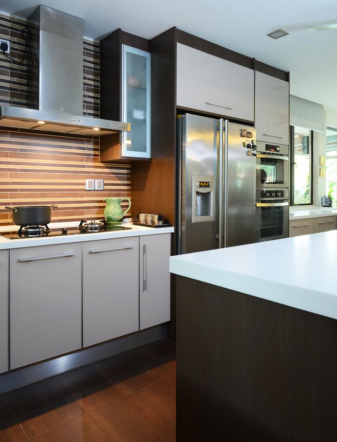 modern aluminium kitchen cabinet design malaysia. image info