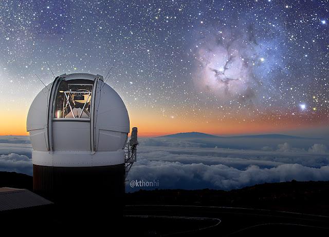 Telescópio Pan-STARRS - Havaí