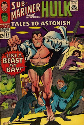 Tales to Astonish #84, the Sub-Mariner