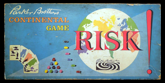 Risk first version 1959 - box front