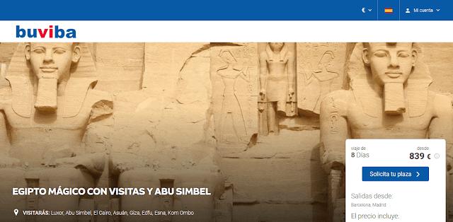 Viaje a Egipto Mágico con Visitas y Abu Simbel