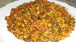 أرز جربى بفواكه البحر  المطبخ التونسى