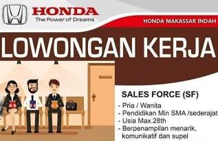 Lowongan Kerja Sales Force di PT Makassar Indah Motor