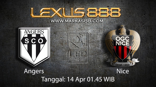 BOLA88 - PREDIKSI TARUHAN BOLA ANGERS VS NICE 14 APRIL 2018 ( FRENCH LIGUE 1 )