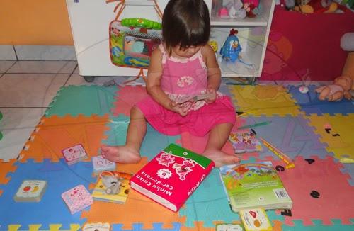 Na Mira da Mamãe_Fernanda e seus livros