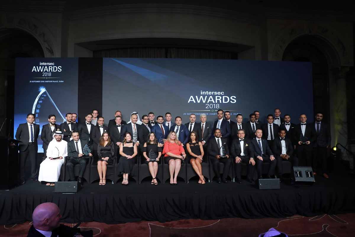 Winners of inaugural Intersec Awards celebrated at glittering function in Dubai
