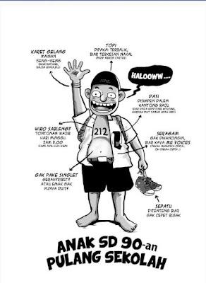 30 Meme Ilustrasi Kehidupan Anak-anak Tahun 90an Ini Bikin Kangen Masa Kecil