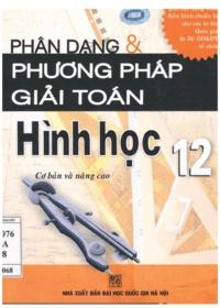Phân Dạng và Phương Pháp Giải Toán Hình Học 12 - Trần Thị Vân Anh
