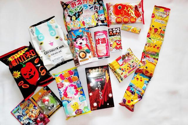 Tokyo treat część druga! Japanese Candy! Unboxing!