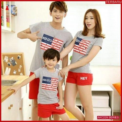 AKC229K46 Kaos Couple Anak 229K46 Keluarga BMGShop